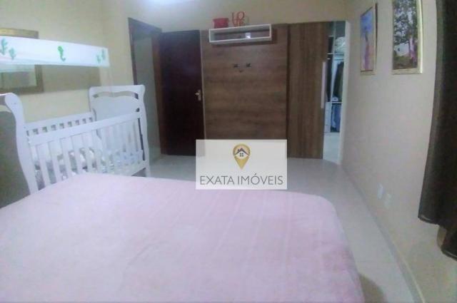 Casa duplex 03 quartos (não geminada) condomínio/amplo quintal, Marilea/Rio das Ostras. - Foto 19