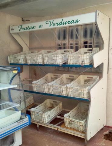 Freezer, balcão refrigerado e expositor de frutas - Foto 4