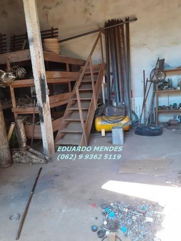 Galpão coberto, lote 360 m² em Aparecida de Goiânia, boa localização - Foto 12