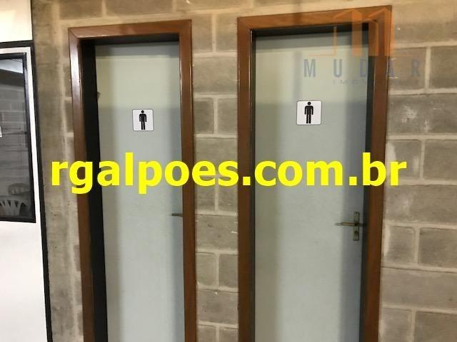 Galpão 650m², 5 salas, 6 banheiros, elevador industrial e recepção - Foto 19