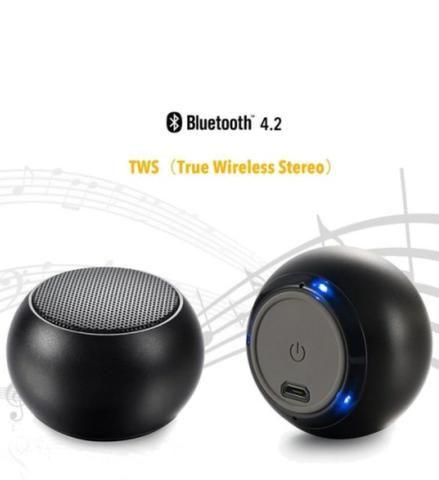 Caixa De Som H Maston Metal Bluetooth Original Android iOS Música - Foto 2