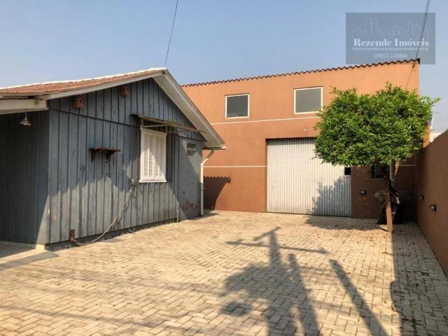 LF-BA0016 Excelente Barracão com Casa para alugar, 238 m² por R$ 3.000/mês - Foto 15