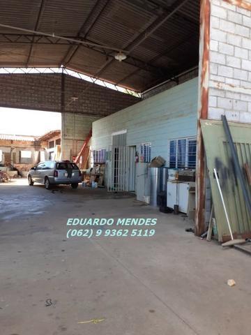 Galpão coberto, lote 360 m² em Aparecida de Goiânia, boa localização - Foto 5