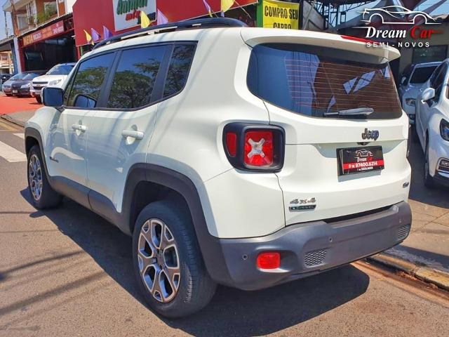 Jeep Renegade Longitude 2.0 16v turbo diesel 4x4 aut 7 air bag único dono 2016 - Foto 3