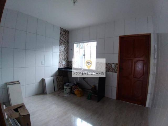 Lançamento! Casas lineares com bom quintal, Extensão Serramar/Rio das Ostras. - Foto 14