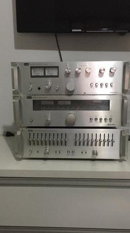 Amplificador equalizador turner cce 6060