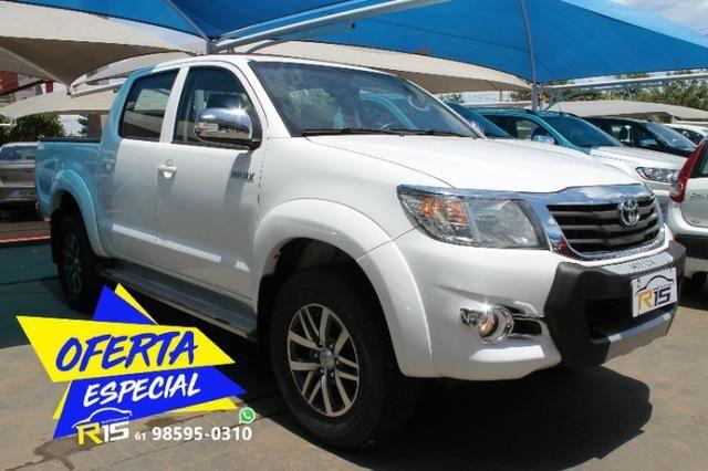 Toyota Hilux Cabine Dupla Hilux 2.7 4x2 CD Srv (Flex) (Aut) 2015