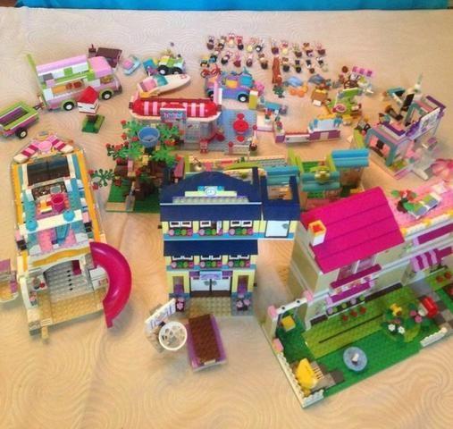 Coleção Lego friends 12 x R$150 raridade