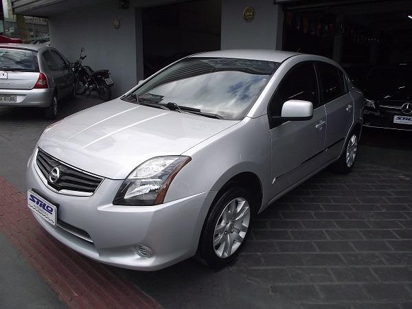 Nissan Sentra 2.0 Flex 12/13 Prata Cód. 5519