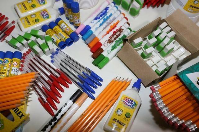 Kit De Material Escolar Volta As Aulas 2020 - Foto 3