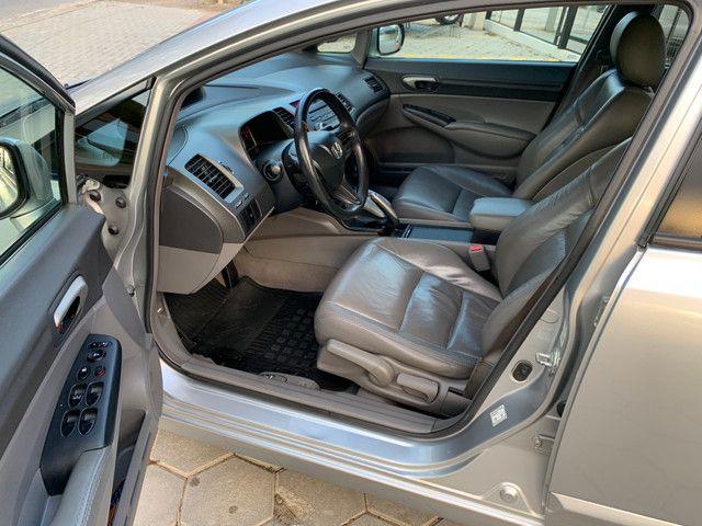 Civic LXS 1.8 flex automático completo 2008 - Foto 8