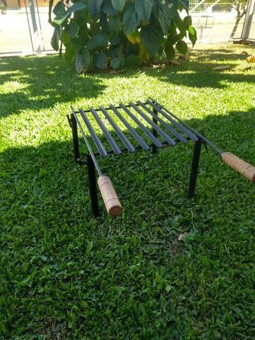 Trempe/Grelha Desmontável