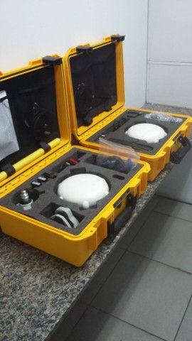 Kit Completo GPS X91 | Receptor GNSS | Coletora HCE 300 | Tripé/Base + Acessórios