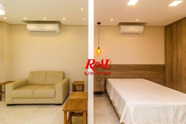 Apartamento com 1 dormitório para alugar, 53 m² por R$ 3.200,00/mês - Ponta da Praia - San - Foto 10