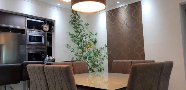 Apartamento com 2 dormitórios para alugar, 76 m² por R$ 3.000,00/mês - Tupi - Praia Grande - Foto 10