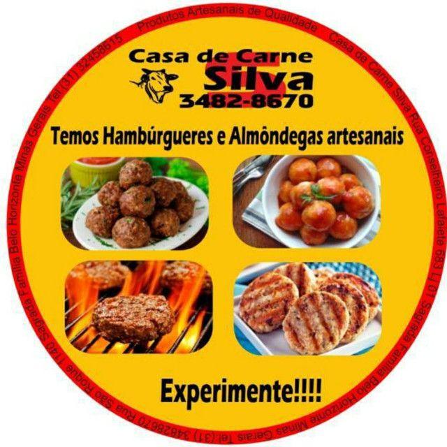 Carne de Hambúrguer Artesanal - Foto 6