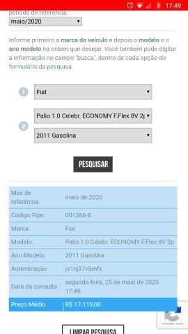 Fiat Palio Economy 1.0 FireFlex 2011 c/DH - Foto 8