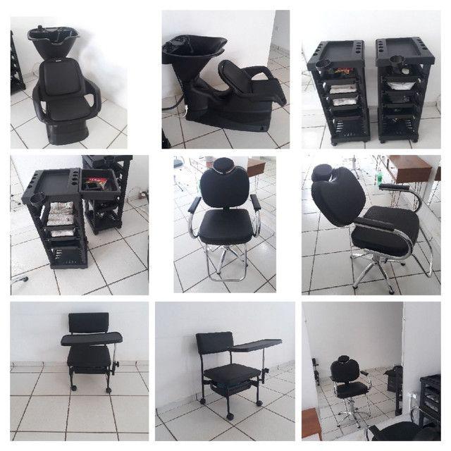 móveis de salão de cabeleireiro  - Foto 3
