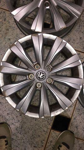 Jogo de rodas aro 15 Original VW - Foto 4
