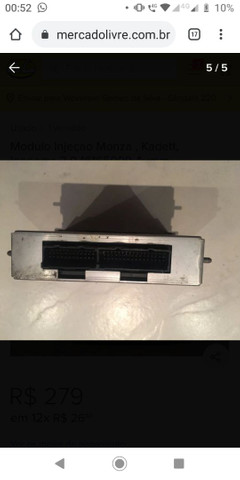 Módulo de injeção do Monza 93 - Foto 3