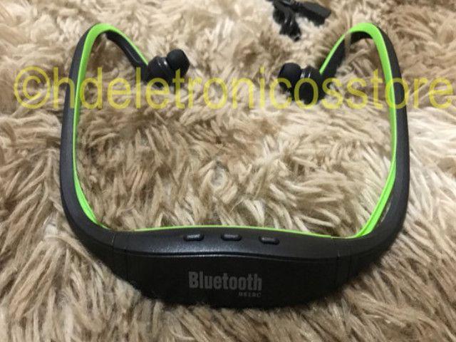 Seu Fone de ouvido esportivo bluetooth s9, suporte cartão sd tf/sem fio mãos, auriculares - Foto 4