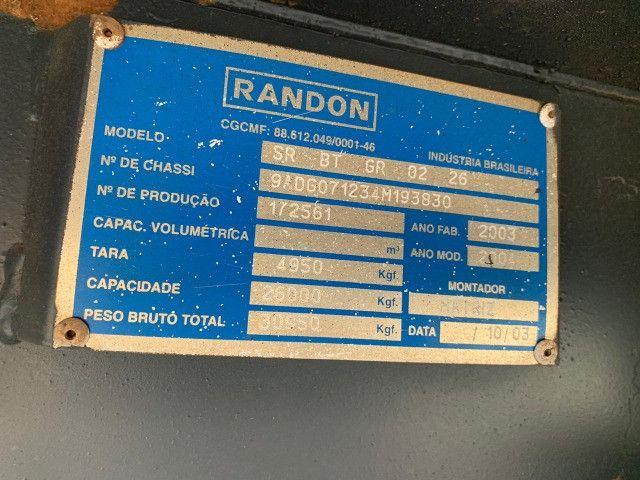 Rodotrem Bitrenzão 3+3 Randon 2004 25,20 m - Foto 5