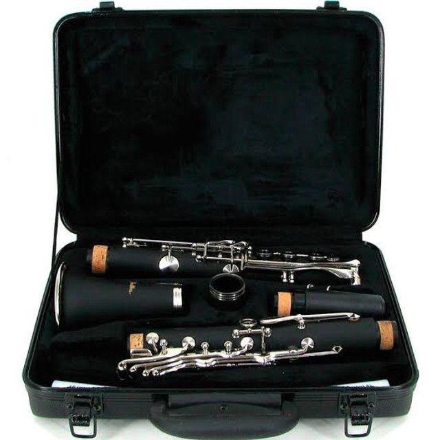 Clarinete 17 Chaves Si Bemol Com Boquilha Estojo TJS6402 Shelter