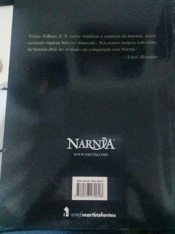Livro As Crônicas de Nárnia - Foto 3