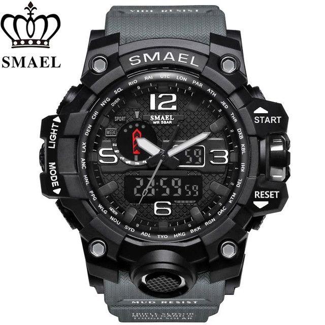 Relógios Smael militar - Foto 3