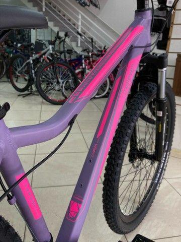 Bicicleta Elleven Luna 24v Shimano - Foto 6