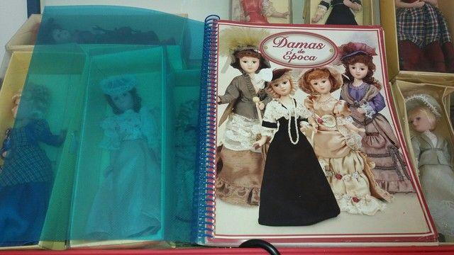 damas de epoca..porcelana..+ livro ediçao completo - Foto 6