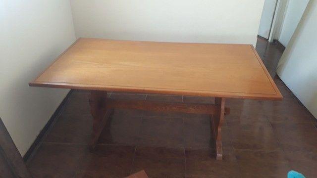 Mesa madeira maciça super nova! - Foto 2