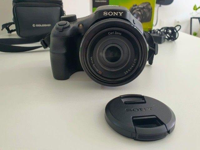 Câmera Semiprofissional Sony DSC-HX300 + Cartão 8Gb - Foto 3