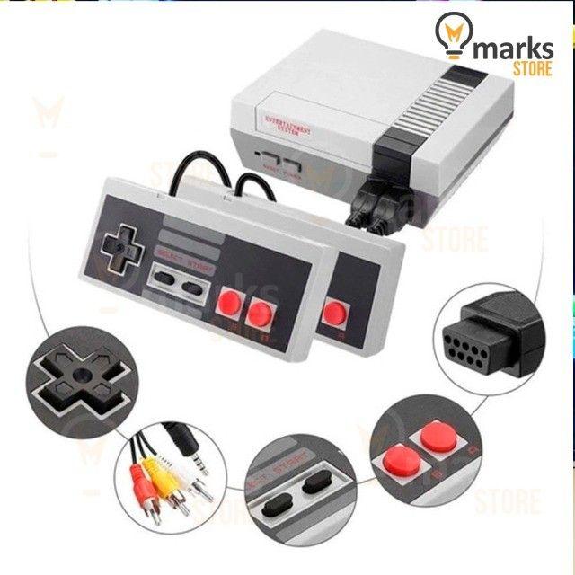 Vídeo Game Portátil Clássico 8 Bits 800 Jogos na Memória e 2 Controles Lançamento - Foto 2