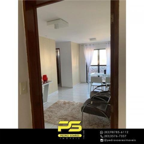 Apartamento com 2 dormitórios à venda, 60 m² por R$ 180.000 - Jardim Cidade Universitária  - Foto 4