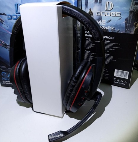 Fone Game c/ Microfone Dodge (entrega grátis) - Foto 2
