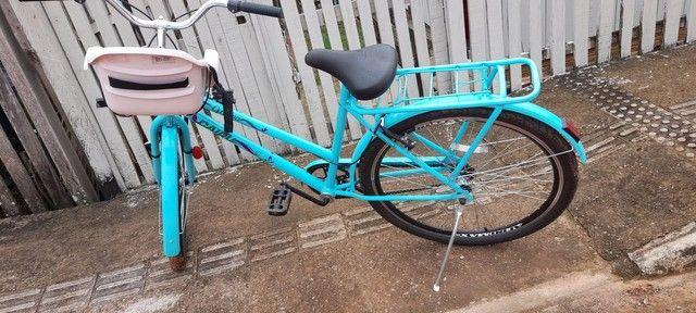 Vendo essa bicicleta   novinha  - Foto 3