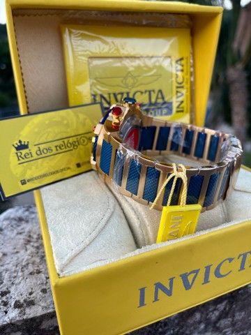 Relógio invicta Bolt capitão América + caixa  - Foto 2