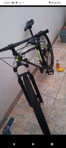 Bicicleta Aro 29 absolute, quadro 19, bom estado - Foto 5