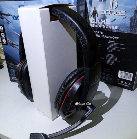 Fone Game c/ Microfone Dodge (entrega grátis) - Foto 6