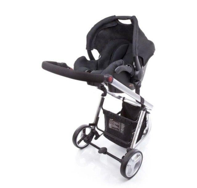 Carrinho de bebê e bebe conforto  - Foto 2