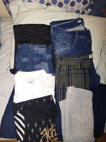 Vendo roupa infantil tam.14,16,PP e 40 usado uma única vez masculina  - Foto 4