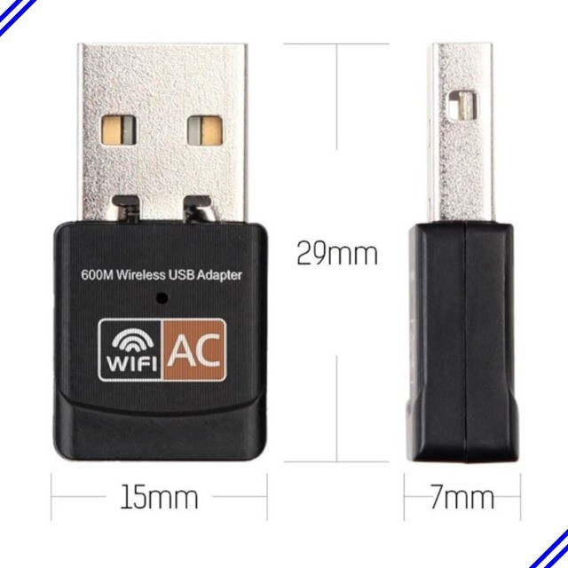 Receptor Wireless Usb Wifi 5ghz Dual Band 600mbps - Foto 4