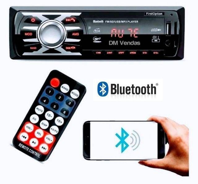 Rádios Bluetooth Pendrive Cartão SD Fm Auxiliar e Controle Novos na Caixa