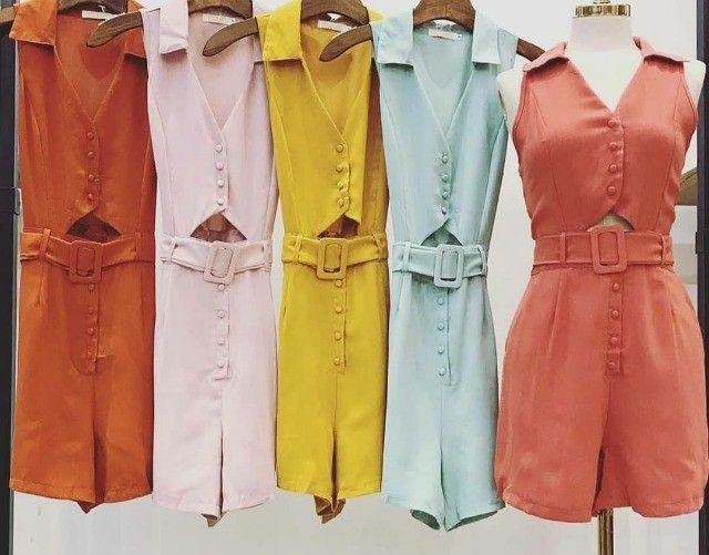 Lote com 50 Peças de roupas Novas - Foto 3