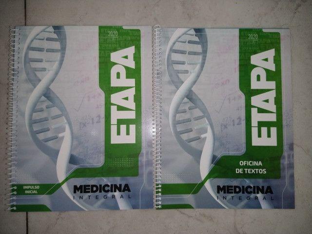 Apostilas Novas Etapa Medicina 2020 De Exercícios E Redação