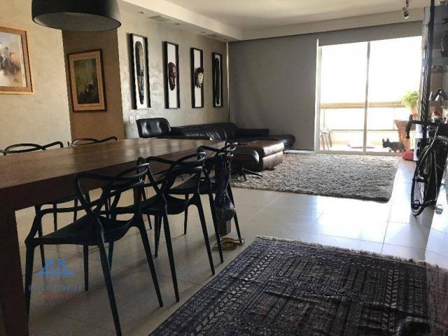 Amplo apartamento mobiliado no joão paulo com linda vista para o mar, 3 suítes, sacada e 3 - Foto 5