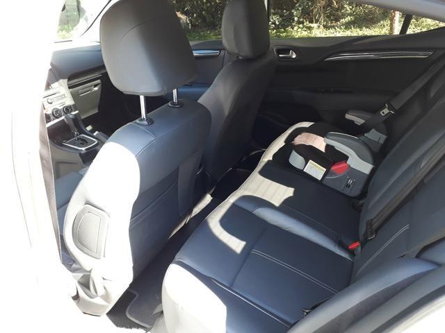 C4 Lounge 1.6 THP exclusive aut,teto solar,bxa Km,aceito troca - Foto 9