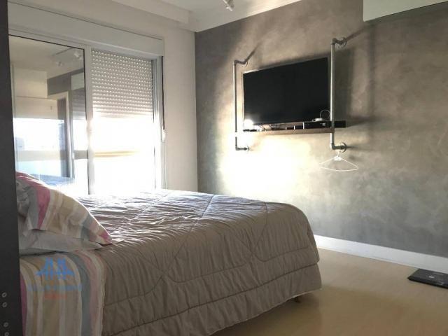 Amplo apartamento mobiliado no joão paulo com linda vista para o mar, 3 suítes, sacada e 3 - Foto 12