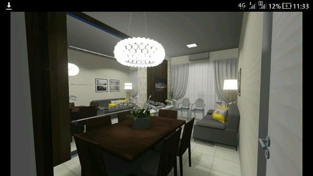 Apartamento 2/4 na 606 sul 60m2